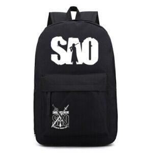 sword art online black backpack