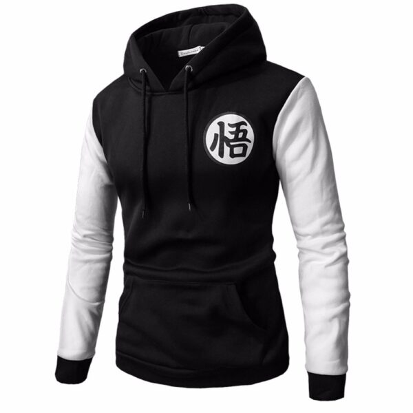 black dragon ball z hoodie