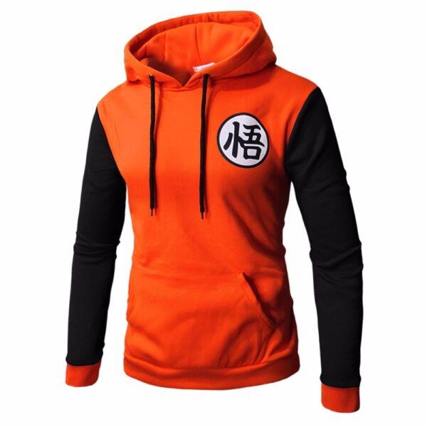 orange dragon ball z hoodie